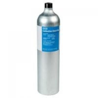 Chai khí chuẩn 4 thành phần / 4 mixed gas: 10 ppm H2S / 50 ppm CO / 2.5 % CH4 (50% LEL) / 18 % O2